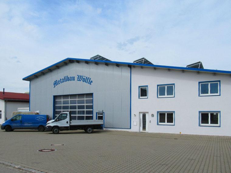 Metallbau Wölfle, Firmengebäude