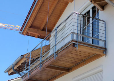 Metallbau: Balkon-Geländer