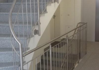 Metallbau: Treppengeländer