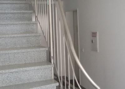 Metallbau: Treppengeländer innen