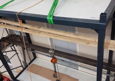 Metallbau: Geländerinstllation