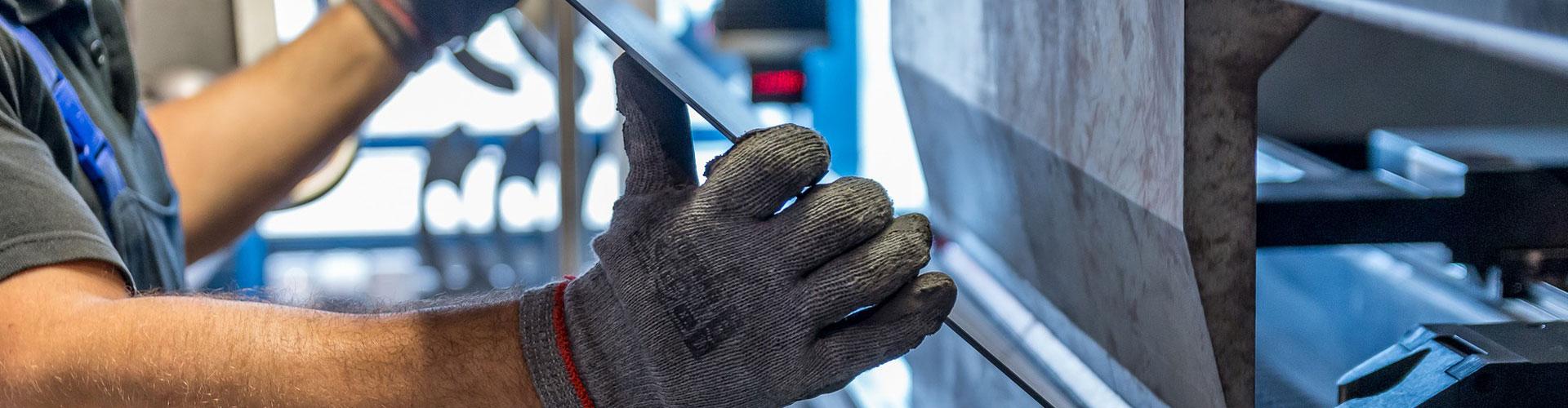 Leistungen bei Metallbau Wölfle: Edelstahlverarbeitung