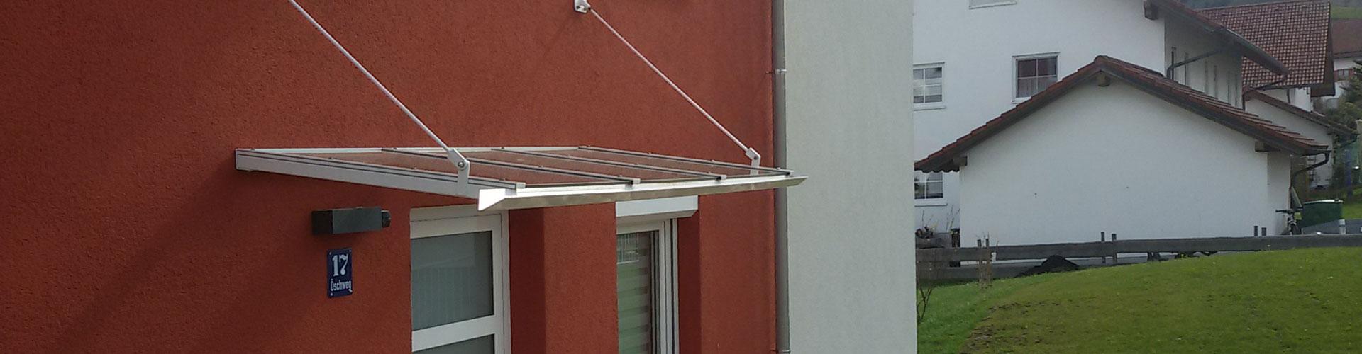 Metallbau Roland Wölfle, Vordächer